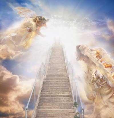 isten, helyes gondolkodás,látomás,angyalok